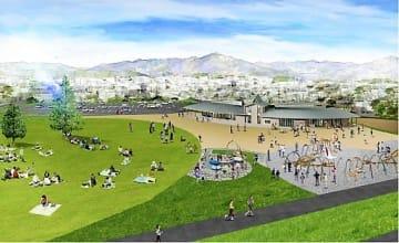 2020年度のオープンを予定する子育て支援拠点施設のイメージ図