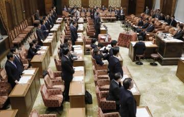 ドローン規制法改正案を賛成多数で可決した衆院内閣委=12日午前