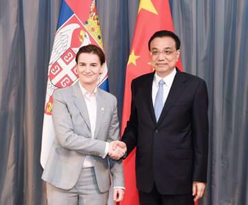 李克強総理、セルビア首相と会見