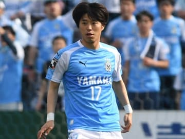 今季から磐田でプレイする森谷 photo/Getty Images