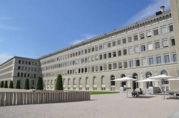 スイス・ジュネーブの世界貿易機関(WTO)本部(c)WTO