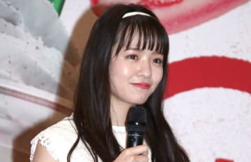 スターバックスの新作フラペチーノのPRイベントに登場した横田真悠さん