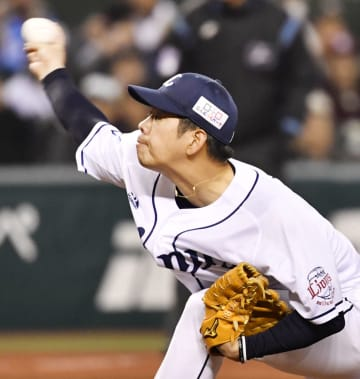 オリックス戦に先発した西武・多和田=メットライフドーム