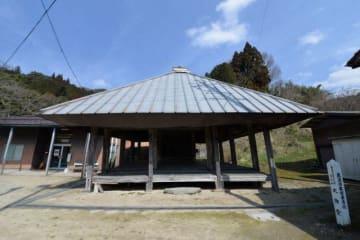 県内最古の平安末期のスギ材が使われていたことが分かった「大御堂」
