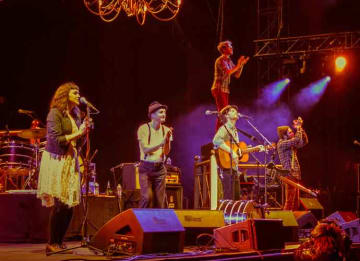 The Lumineers in 2013