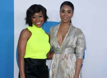 Regina Hall & Bresha Webb Attend Premiere Of Their Film 'Little'