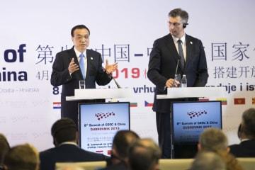 李克強総理、クロアチア首相と共同記者会見 中国·中東欧協力を強調