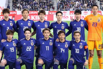 2019 キリンチャレンジカップ 日本代表 写真:西村尚己/アフロスポーツ