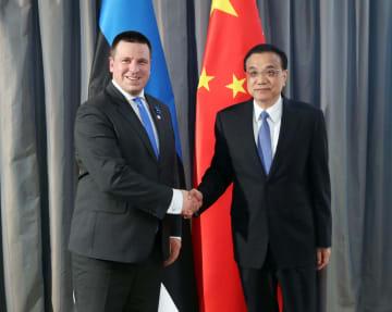 李克強総理、エストニア首相と会見 経済協力拡大強調