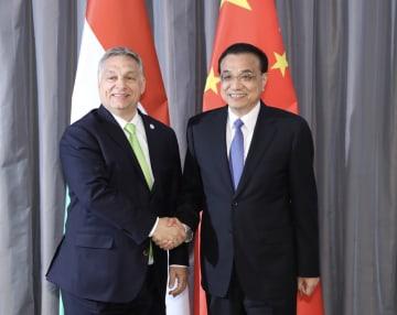李克強総理、ハンガリーのオルバン首相と会見 実務協力推進を強調