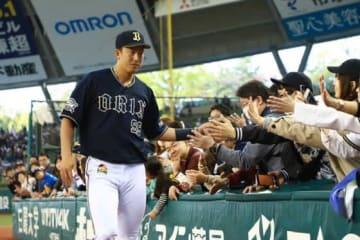 4番起用に応え2本塁打を放ったオリックス・杉本裕太郎【写真:荒川祐史】