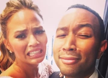 Chrissy Teigen and John Legend (Instagram)
