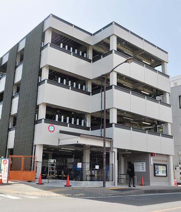 秦野駅北口の自転車駐車場