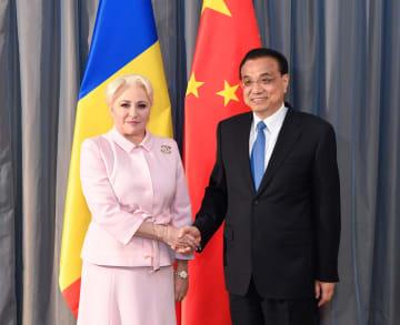李克強総理、ルーマニア首相と会見 多分野の協力強化で一致