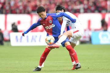 FC東京のDFリーダー森重。最後まで集中を切らさず、鹿島の猛攻を耐えしのいだ photo/Getty Images