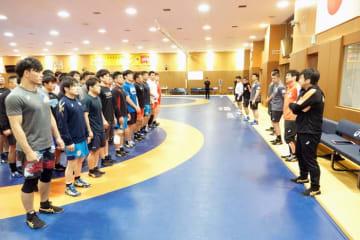約1ヶ月ぶりの全日本合宿を開始した男子フリースタイル全日本チーム