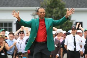 タイガーの復活劇にトランプ大統領も「最高な男」(撮影:GettyImages)