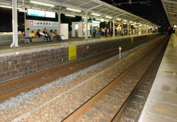 【資料映像】JR山科駅のホーム