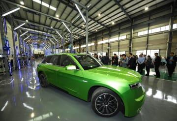 重慶市初の水素燃料電池自動車がラインオフ