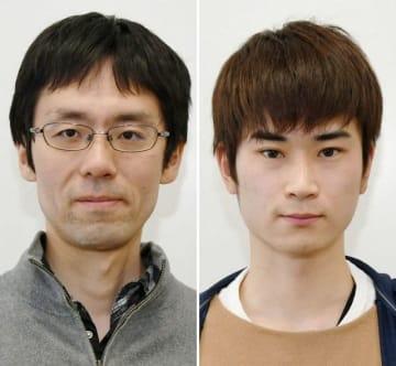 小野拓馬さん(左)と尾崎達郎さん