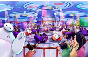 ダイハツが2020年「ベイマックスのハッピーライド」を提供 東京ディズニーランド
