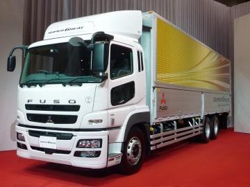三菱ふそうの大型トラック「ふそうスーパーグレート」