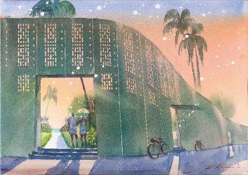来春開業予定の「星のや沖縄」のイメージ図(星野リゾート提供)