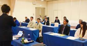 外国人材採用のポイントなどを学ぶ参加者