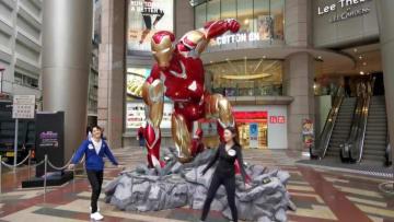 「アベンジャーズ4」公開前、香港でマーベル展開催