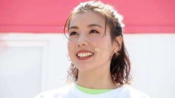 イベント「500日前 東京2020 パラリンピックパークin豊洲」にゲストとして登場した仲里依紗さん