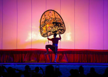 タイの影絵芝居「ナン·ヤイ」