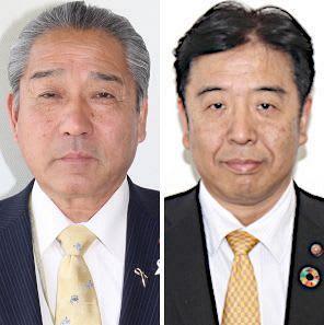 古南源二氏(左)と緒形尚氏