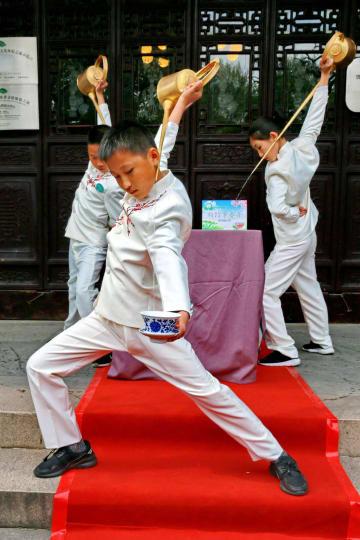 中国茶文化の普及イベント、上海で開催