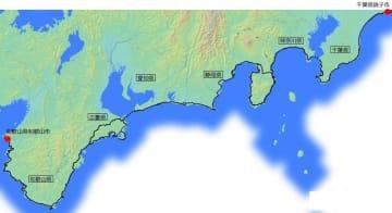 約1400キロに及ぶ太平洋岸自転車道のルート(国交省資料)