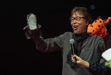 絵本作家の宮西達也氏、武漢で公開授業 新作「我是熊猫」中国初公開
