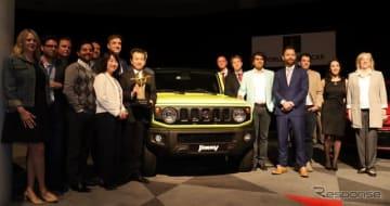2019ワールドアーバンカーオブザイヤーを受賞したスズキ・ジムニー 新型(ニューヨークモーターショー2019)