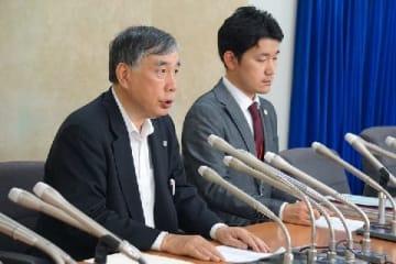 川人弁護士(左)と永田弁護士