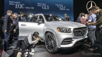 メルセデスベンツ GLS 新型(ニューヨークモーターショー2019)