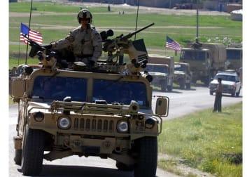 イラク戦争(2003年4月12日)(写真:ロイター/アフロ)