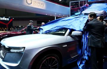 中国の水素燃料電池自動車、上海国際モーターショーに登場