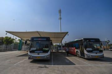 市中心部で電気バスの全面導入を実現 浙江省湖州市