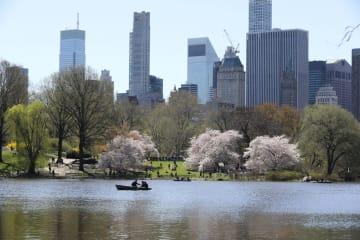 世界園芸の旅-米NYのセントラルパークを訪ねて