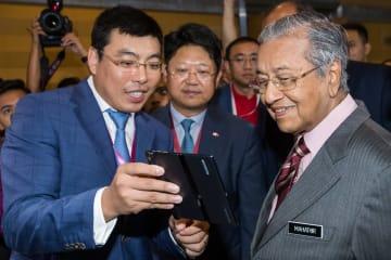 中国企業がマレーシアの5G技術展に登場