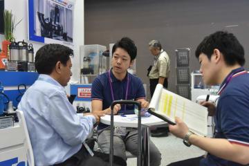 日本企業が大湾区の商機に注目して広州交易会に参加