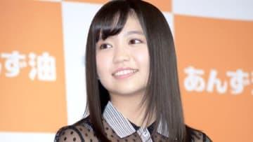 「第4回黒髪美人大賞」に選ばれ、授賞式に登場した大原優乃さん