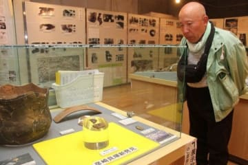 一般公開されている「粟島台式土器」の破片