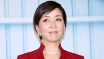 連続ドラマ「スパイラル~町工場の奇跡~」記者会見に出席した真矢ミキさん