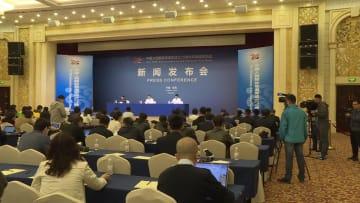 中国海軍創設70周年の多国籍海軍活動、60カ国の代表団が参加