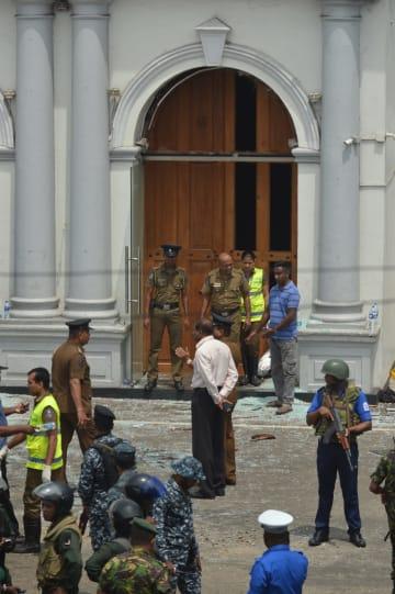 スリランカの首都で爆発 70人死亡 260人以上負傷