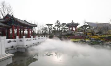 北京園芸博、中華園芸展示エリアを訪ねて